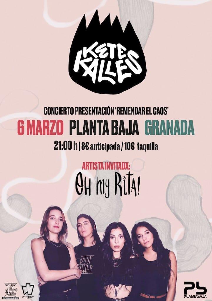 KETEKALLES + OH MY RITA! Planta Baja