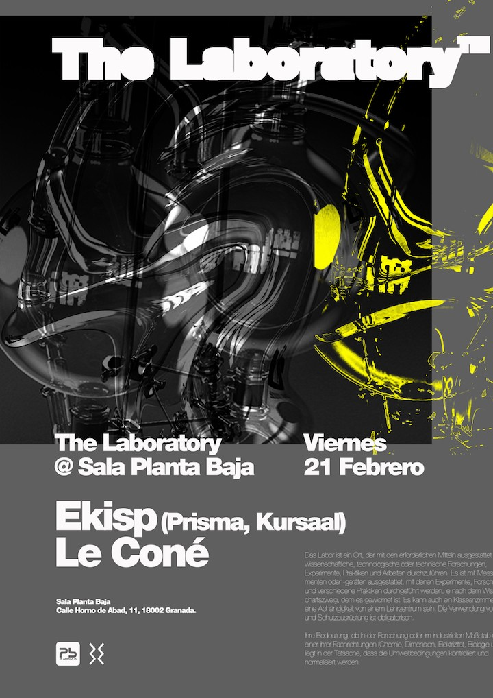 The Laboratory #04 (2º Aniversario T-Label) Planta Baja