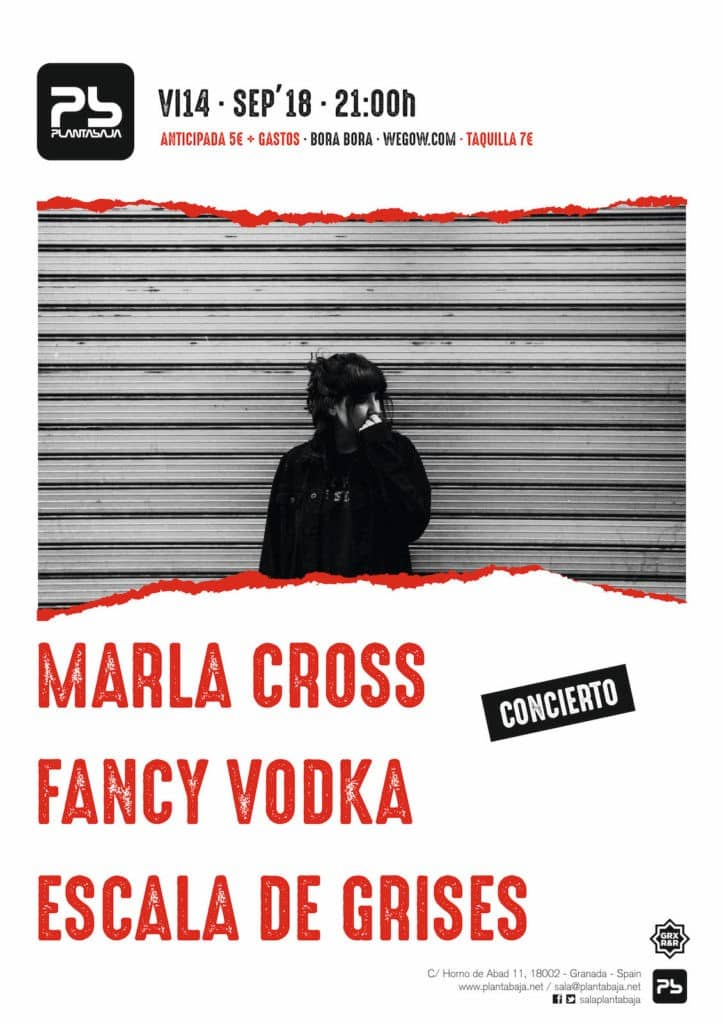 Marla Cross + Fancy Vodka + Escala de Grises Planta Baja