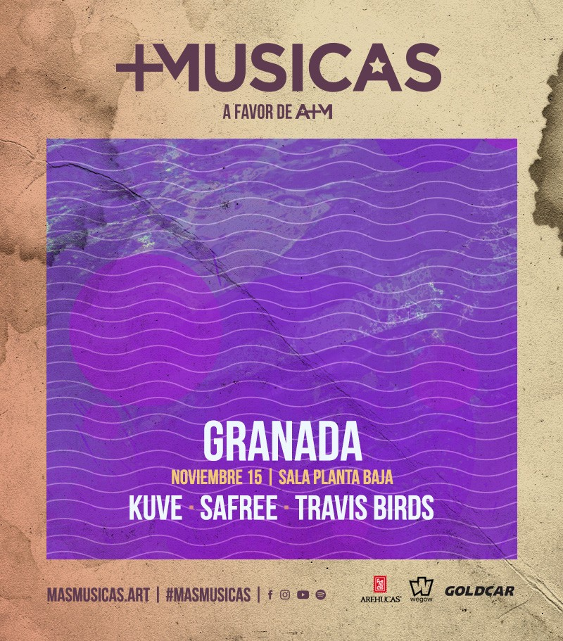 +MÚSICAS: KUVE + SAFREE + TRAVIS BIRDS Planta Baja