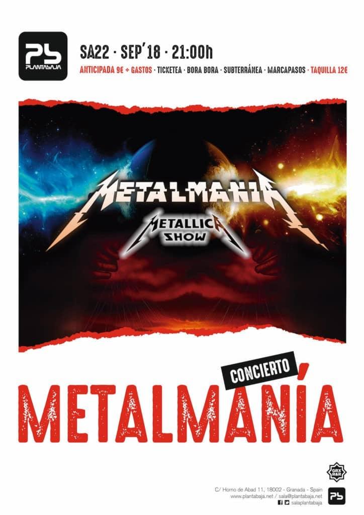 Metalmania: Metallica Show Planta Baja