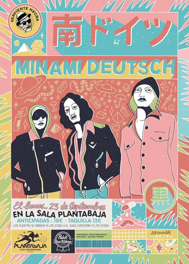 Serpiente Negra Presenta: MINAMI DEUTSCH Planta Baja