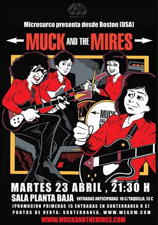 MUCK AND THE MIRES Planta Baja