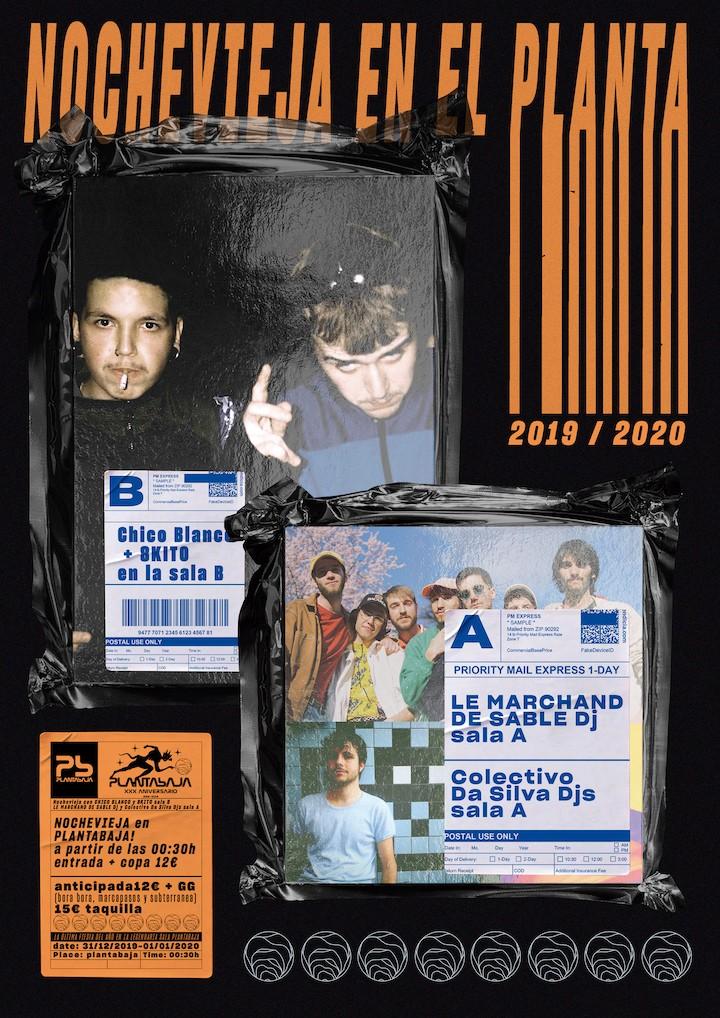 Nochevieja en el Planta: Chico Blanco + 8Kito Planta Baja