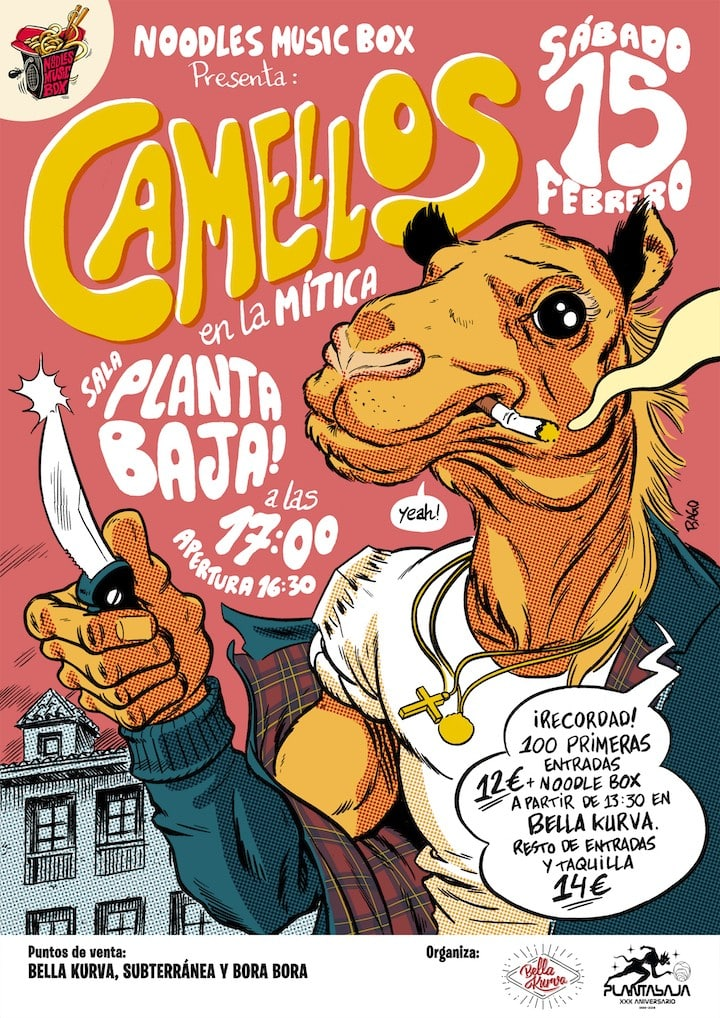 Noodles Music Box: CAMELLOS Planta Baja
