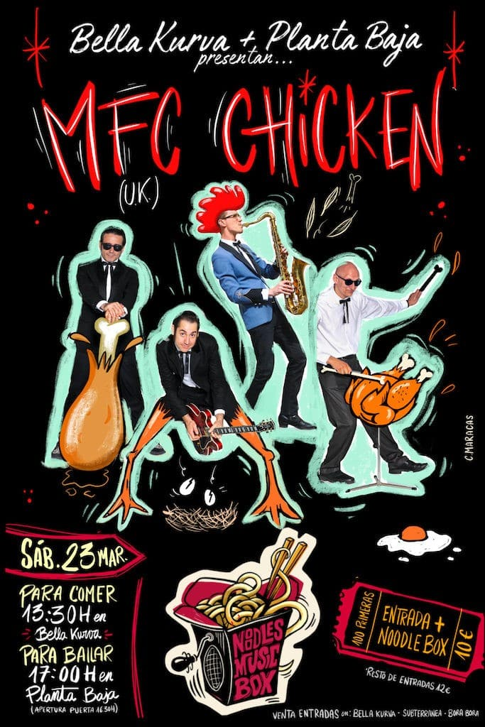Noodles Music Box: MFC CHICKEN Planta Baja