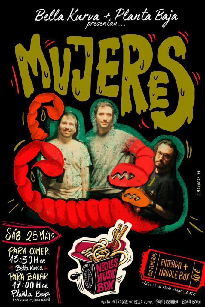 Noodles Music Box: MUJERES Planta Baja