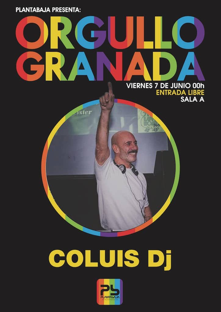 ORGULLO GRANADA: Coluis DJ Planta Baja