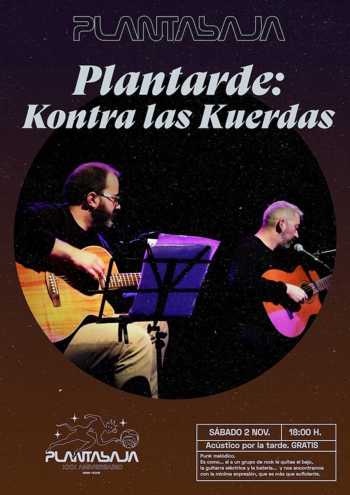 Plantarde: KONTRA LAS KUERDAS Planta Baja