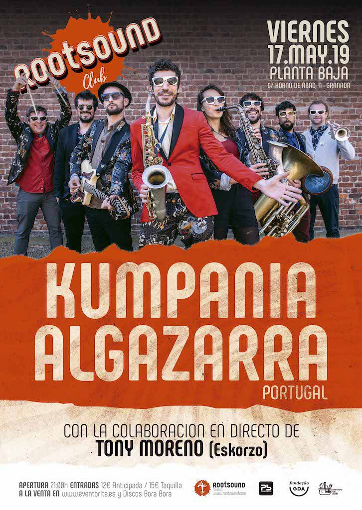 Rootsound Club: KUMPANIA ALGAZARRA Planta Baja