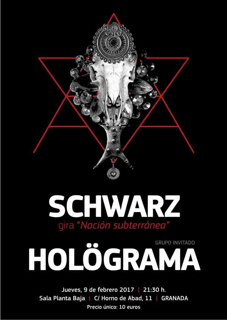 SCHWARZ + HOLÖGRAMA Planta Baja