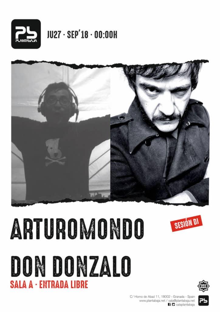 Sesión ArturoMondo + Don Gonzalo 27 de septiembre de 2018 Planta Baja
