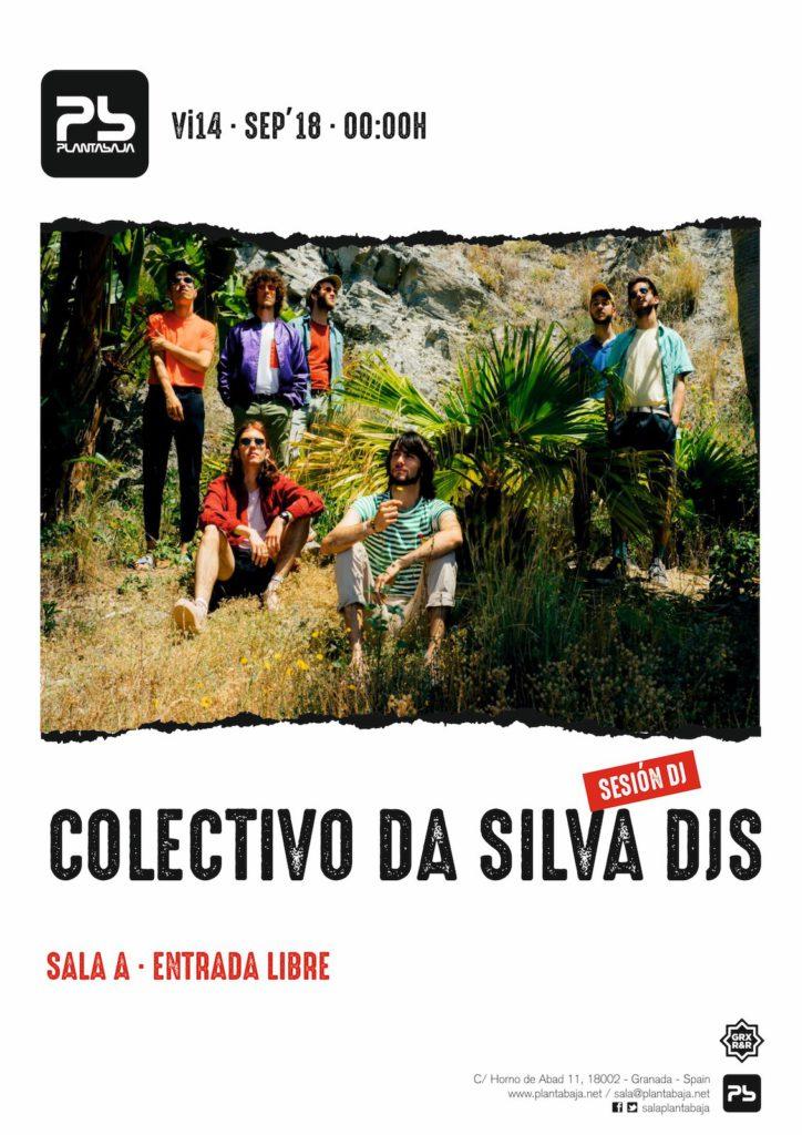 Sesión Colectivo Da Silva DJs 14 de septiembre de 2018 Planta Baja