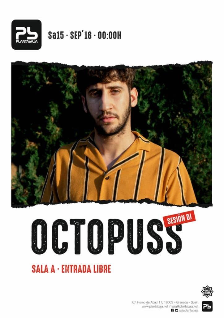 Sesión Octopuss 15 de septiembre de 2018 Planta Baja
