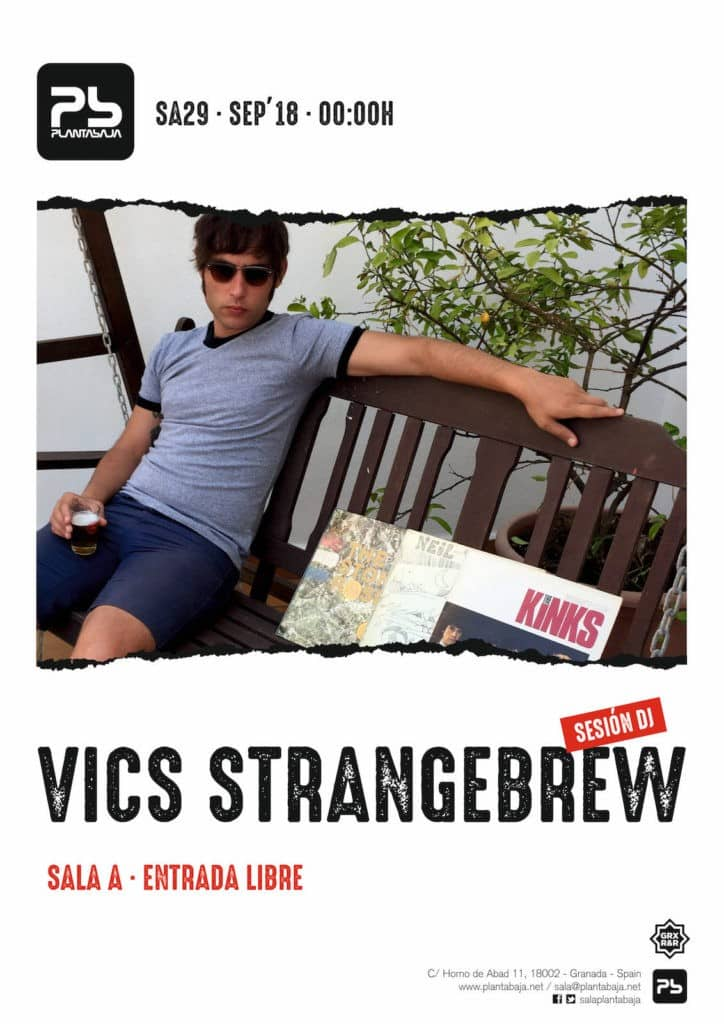 Sesión Vics Strangebrew 29 de septiembre de 2018 Planta Baja