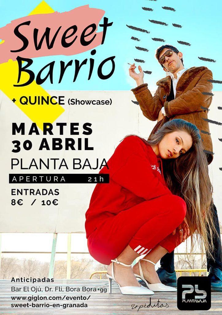 SWEET BARRIO + QUINCE Planta Baja