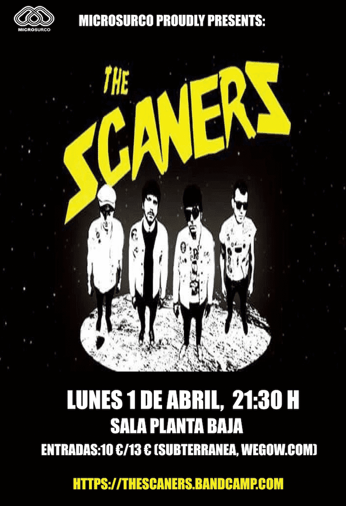 THE SCANERS Planta Baja