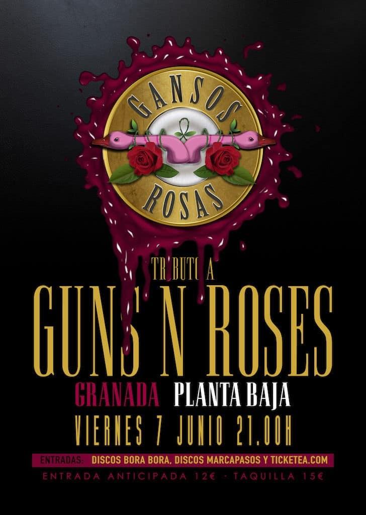 Tributo a Guns N Roses: GANSOS ROSAS Planta Baja