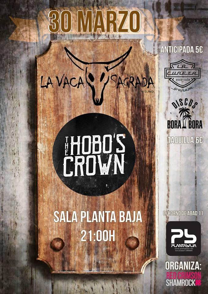 La Vaca Sagrada + The Hobo's Crown Planta Baja