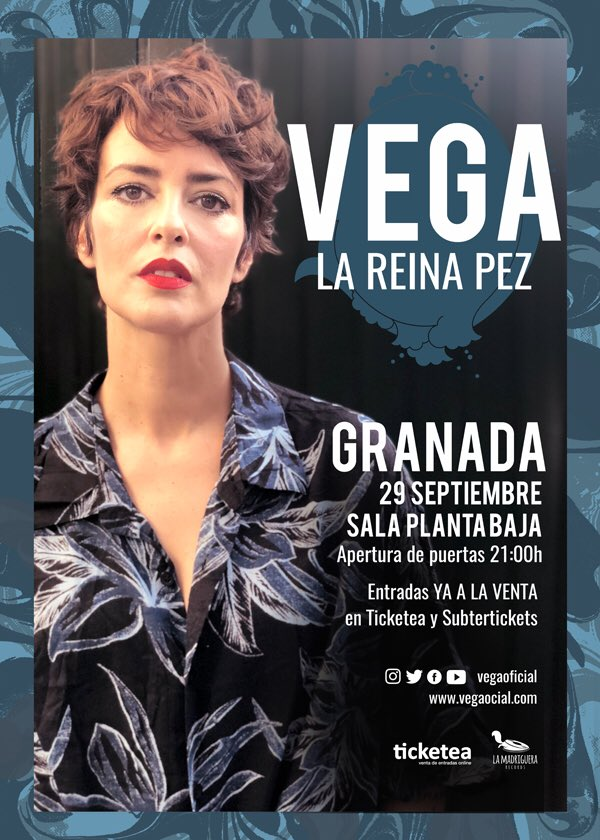 Vega presenta La Reina Pez Planta Baja