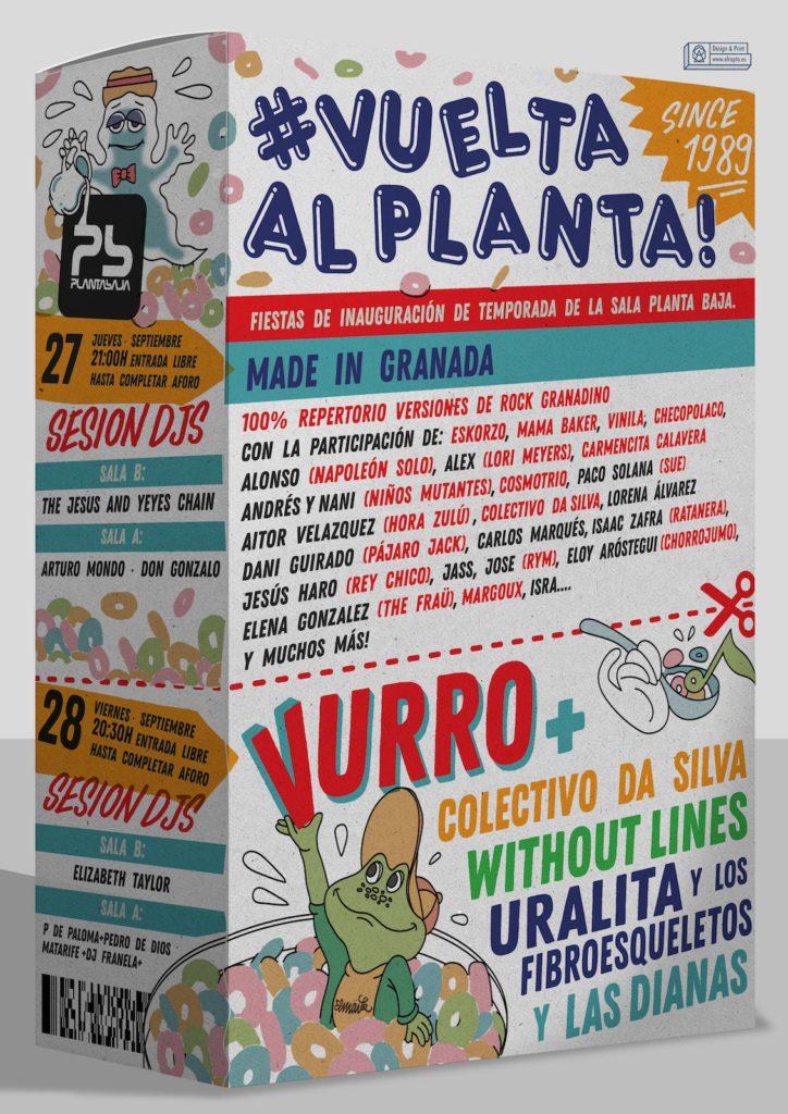 #VUELTAALPLANTA Planta Baja