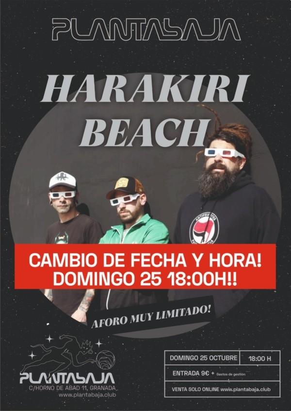 Harakiri Beach *CANCELADO*(25.10.20) Planta Baja