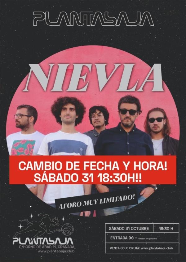 Nievla *CANCELADO*(31.10.20) Planta Baja
