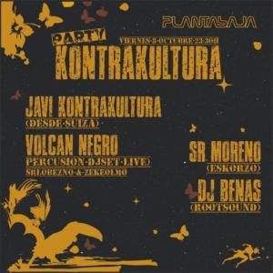 fiesta KONTRAKULTURA (sesión DJ)(08/10/21) Planta Baja