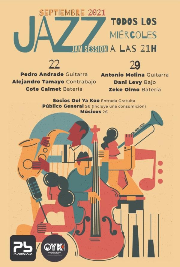 Jazz JAM sesion (Todos los miercoles) Planta Baja