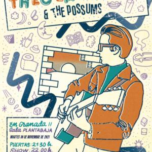 THEO LAWRENCE & THE POSSUMS (30.11.21) Planta Baja