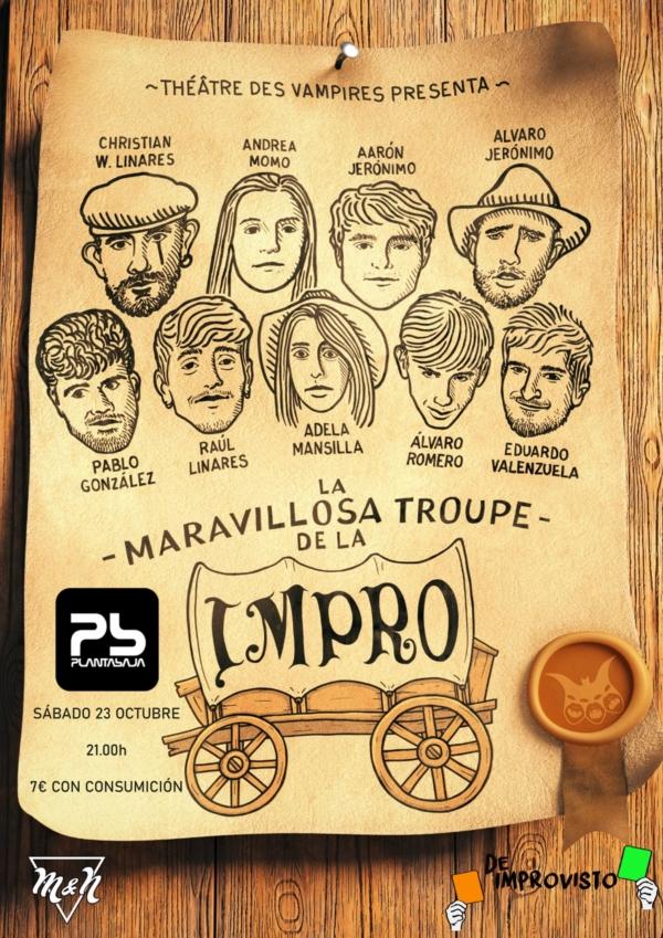 La Maravillosa Troupe de la Impro (23/10/21) Planta Baja
