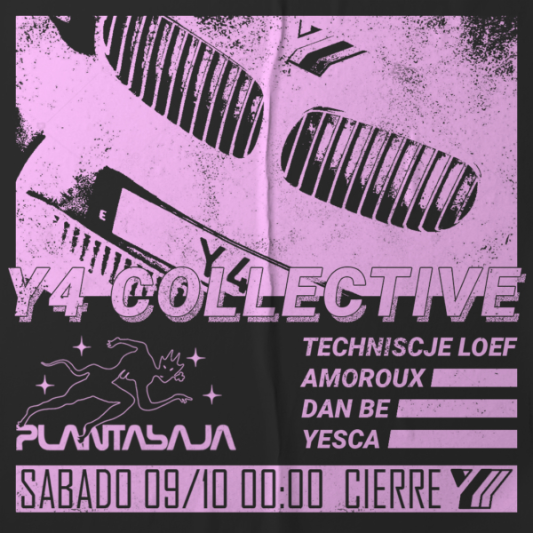 Y4 Collective (sesión DJ)(09/10/21) Planta Baja
