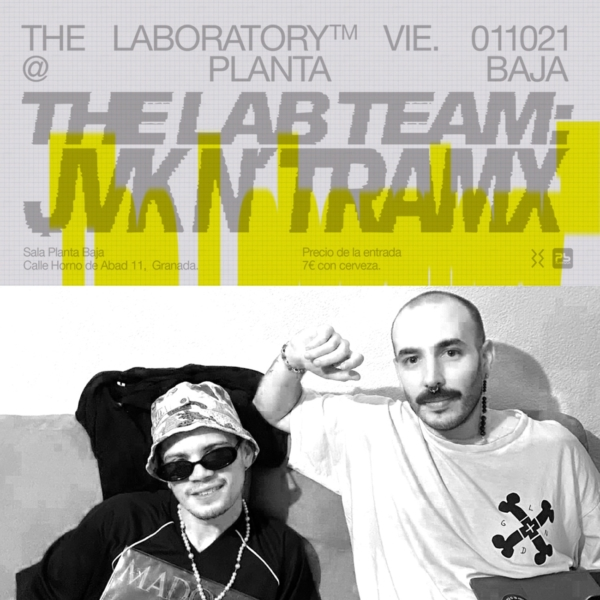 TLabel presenta The Laboratory (sesión DJ)(01/10/21) Planta Baja