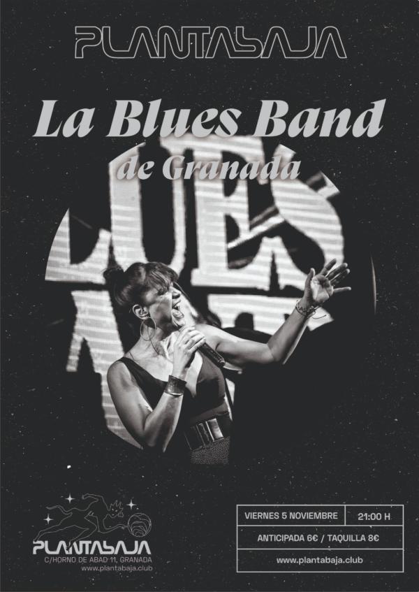 LA BLUES BAND DE GRANADA (05.11.21) Planta Baja